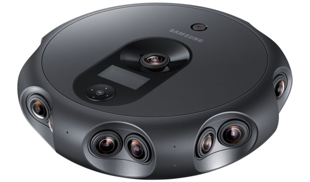 Samsung 360 Round, fotocamera VR professionale per livestreaming di contenuti 3D