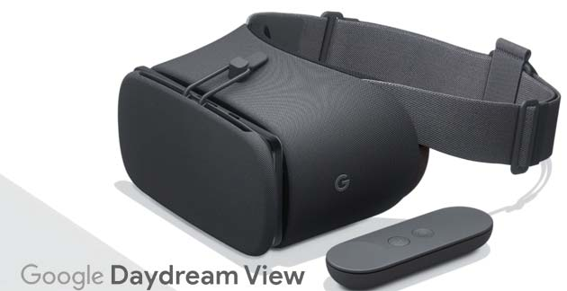 Google Daydream View 2017: Specifiche, Foto e Video. In Italia a 109 euro ora disponibile