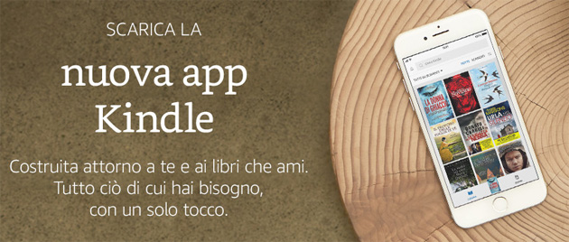 Amazon, la nuova app Kindle trasforma smartphone e tablet in libri
