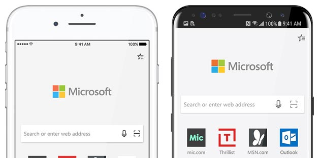 Microsoft Edge disponibile per Android e iOS