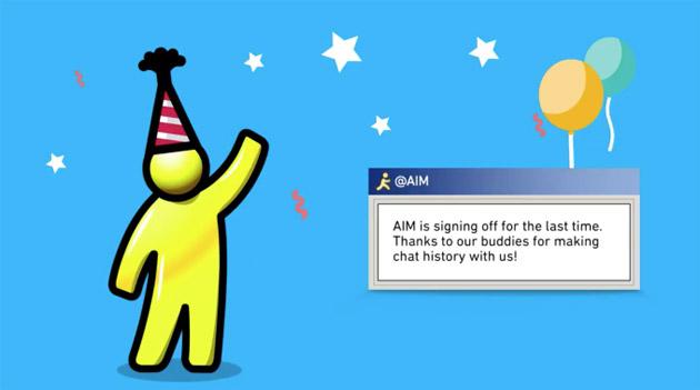 AOL Instant Messenger (AIM) chiude
