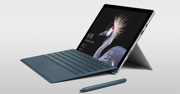 Foto Microsoft, tablet Surface economici e Surface 6 in arrivo