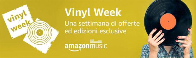 Amazon Vinyl Week 2017, sette giorni pensati per i cultori del disco nero