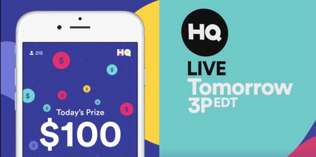 HQ, dal team di Vine un gioco trivia in diretta che premia con soldi veri