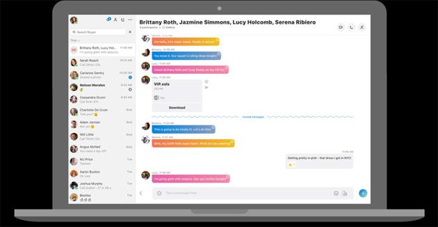 Skype desktop rinnovato completamente per Windows, Mac e Linux
