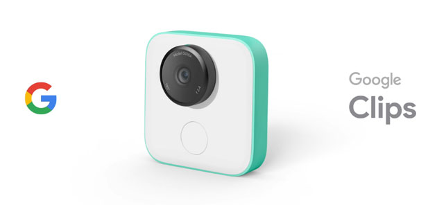 Google Clips, smart camera che cattura i momenti preferiti in automatico