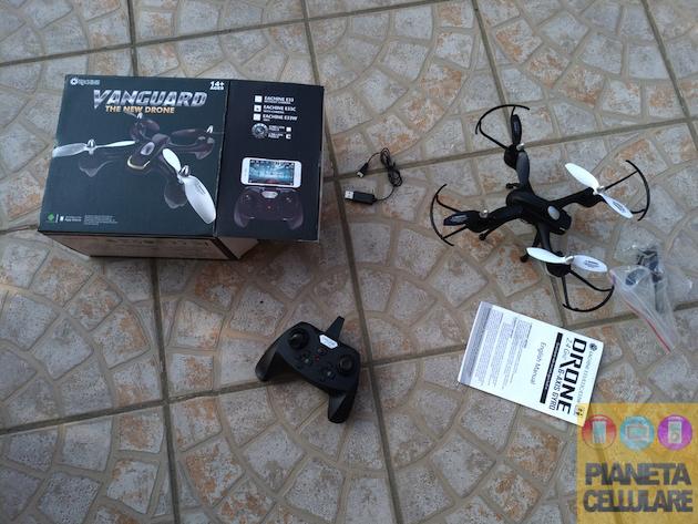 Recensione Eachine E33C, drone Low Cost divertente