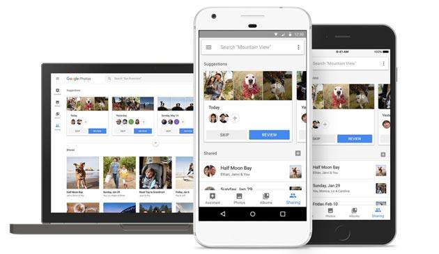 Google Foto velocizza la condivisione su rete mobile
