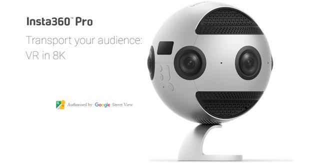 Insta360 Pro prima videocamera certificata per Street View