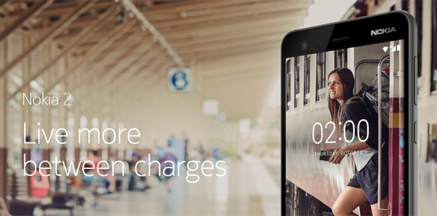 Nokia 2, aggiornamento Android 8 Oreo entro Giugno