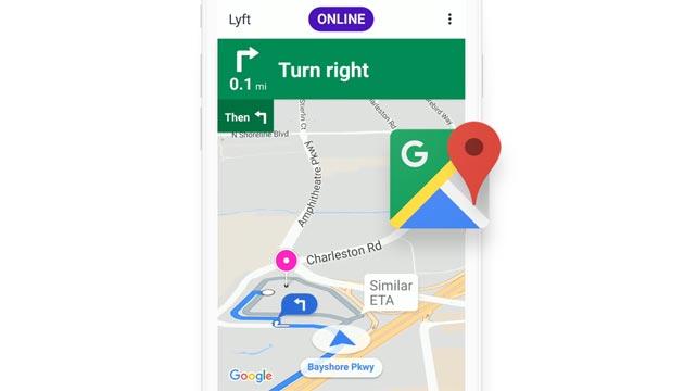 Lyft, nuova app con Google Maps integrato