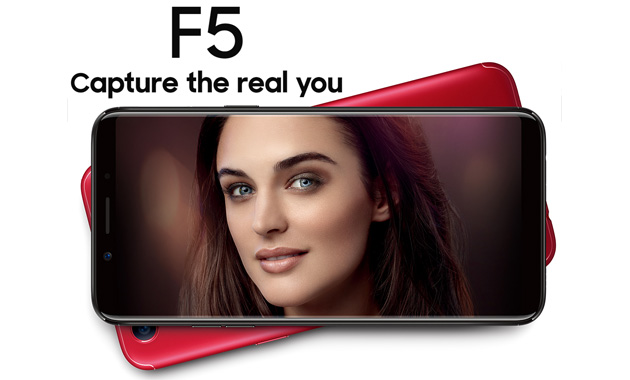 Oppo F5 e F5 Youth ufficiali con selfie camera intelligente