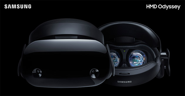 Samsung HMD Odyssey, visore con Windows Mixed Reality