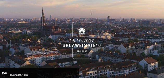 Huawei Mate 10: riassunto specifiche previste e diretta presentazione