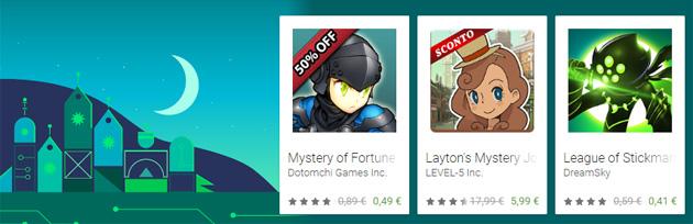 Google Play Store per Black Friday sconta Film, App, Giochi e Libri
