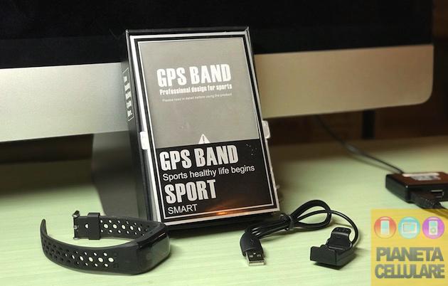 Recensione Smartband Makibes G03 con GPS