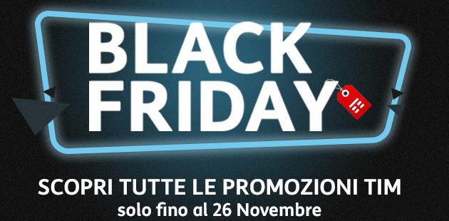 TIM per Black Friday 2017: smartphone scontati e promozioni speciali