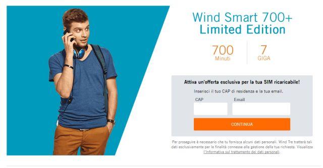 Wind Limited Edition: Le migliori offerte di Wind