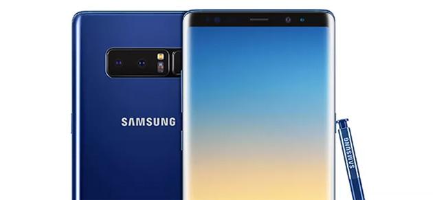 Samsung Galaxy Note8 nella nuova variante di colore Deepsea Blue
