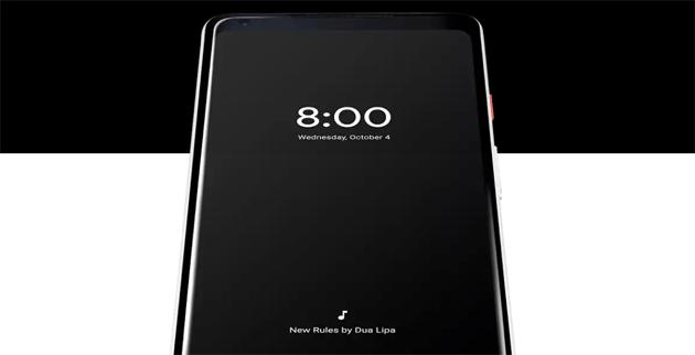 Display Always-on su Pixel e Nexus 6P con Android 8.1