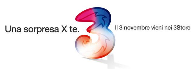 Evento iPhone X di 3 e Wind nei negozi dal 3 al 6 novembre