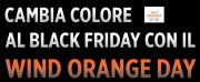 Foto Wind Orange Day, le promozioni del Black Friday di Wind