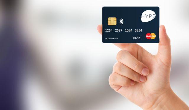 Hype: Carta ricaricabile con Iban che si attiva online e si gestisce via App