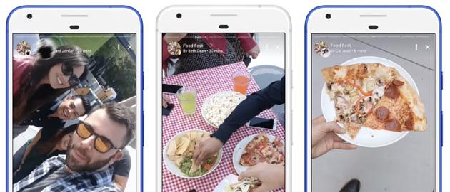 Facebook lancia le Storie collaborative per Eventi e Gruppi