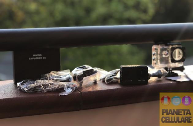 Recensione Action Cam MGCool Explorer 2C