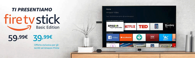 Foto Amazon Fire TV Stick Basic Edition in offerta WOW per Prime Day: a cosa serve e come si usa