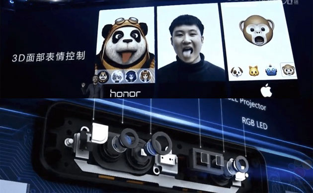 Huawei anticipa la sua risposta a TrueDepth e Animoji di Apple