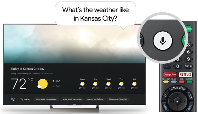 Google Assistente su Smart TV Sony e TCL