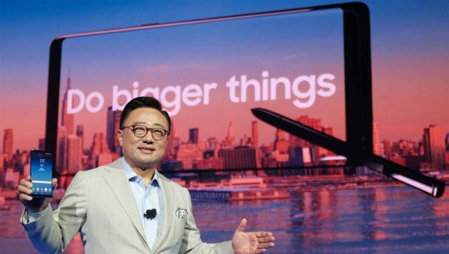 Samsung Galaxy Note9 'crown', le specifiche attese al 16 Aprile