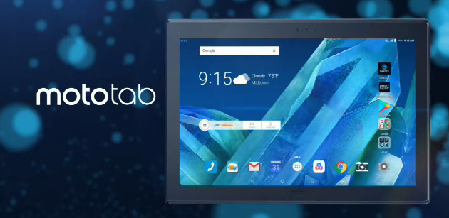 Lenovo Moto Tab, tablet Android 7 Nougat 4G da 10.1 pollici FHD