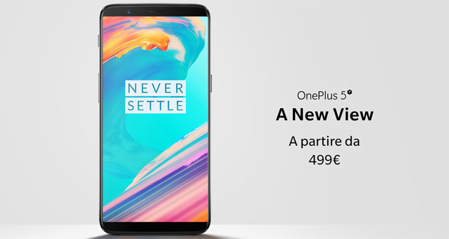 OnePlus 5T con display 18:9 in Italia: Prezzi, Specifiche, Foto e Video Anteprima