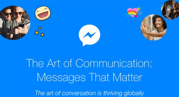 Facebook racconta la conversazione dopo 25 anni dal primo SMS inviato