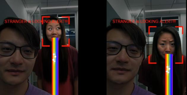 Google testa tecnologia che rileva i curiosi che spiano il telefono dalle nostre spalle