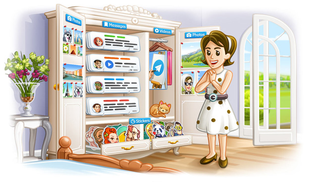Telegram 4.5 introduce Album, messaggi salvati, Ricerca migliore e supporto iPhone X