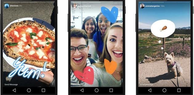 Instagram fa condividere il passato nelle storie