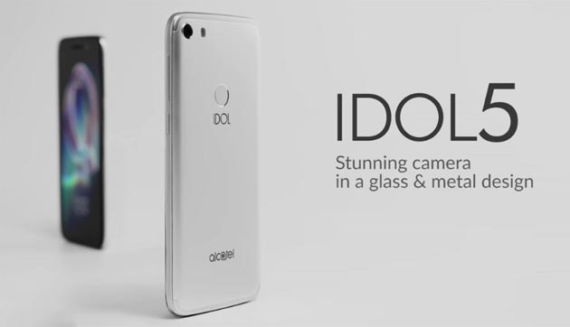 Foto Alcatel Idol 5: smartphone Android 7 Nougat con display 5.2 FHD, chipset octa-core, RAM 3GB , batteria 2800mAh
