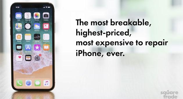 iPhone X il piu' fragile iPhone di sempre: Test di Resistenza