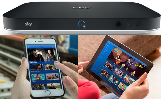 Foto Sky Q porta la televisione in streaming su smartphone e tablet