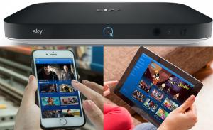 Sky Q porta la televisione in streaming su smartphone e tablet