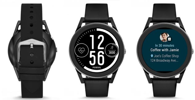 Fossil Q Control, smartwatch Android Wear 2 da 299 euro