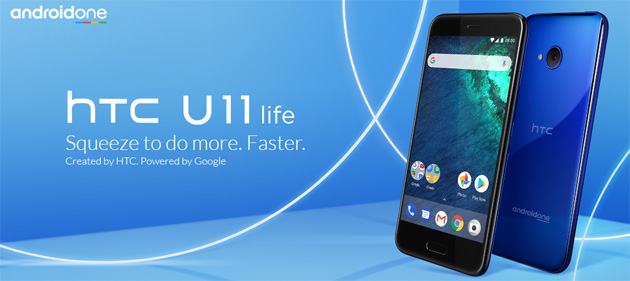 HTC U11 Life, smartphone Android One con display da 5,2 FHD, Snapdragon 630, batteria 2,600mAh due fotocamere da 16MP