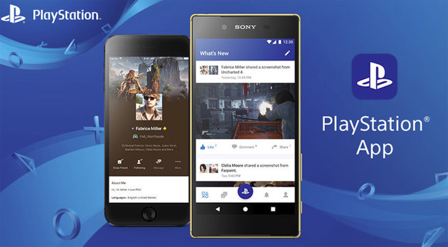 Sony lancia nuova PlayStation App per Android e iOS