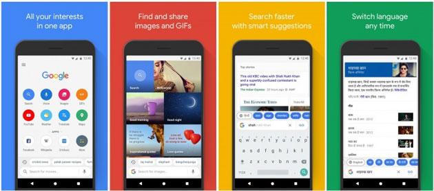 Google Go, versione leggera della app Google Ricerca per Android