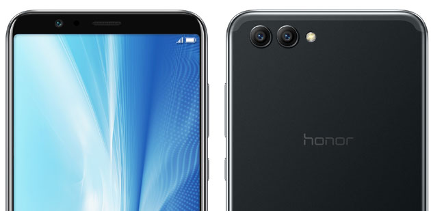 Honor View 10 con display 18:9 e chip intelligente Kirin 970 in Italia da 499 euro
