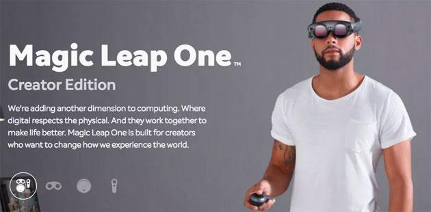 Magic Leap One, visore di Realta' Aumentata in vendita dal 2018