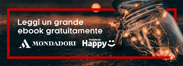 Foto Vodafone Happy Friday il 15 Dicembre regala 1 eBook gratis su kobo.com